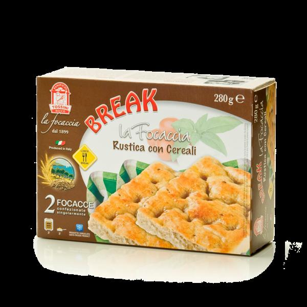 Focaccia con cereali - Panificio Pasticceria Fratelli Tossini - Recco, Genova - Maestri focacciai dal 1899 - La Focaccia è Tossini, Tossini è la Focaccia