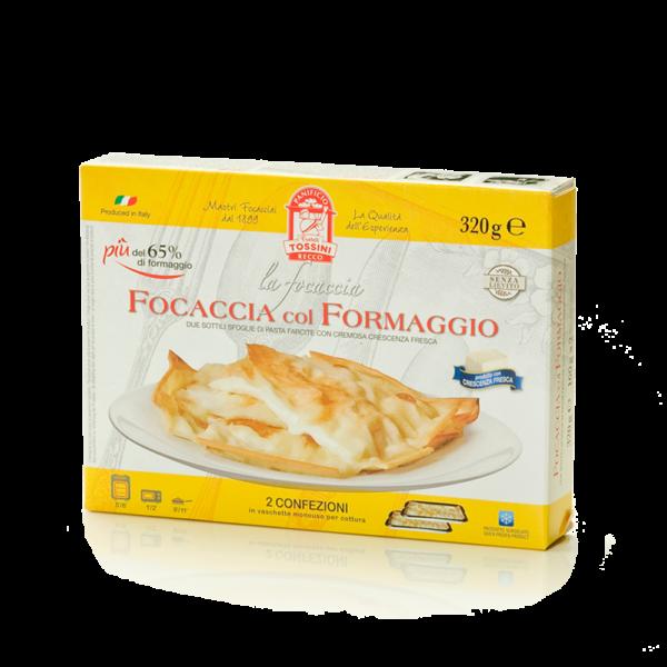 Focaccia col formaggio - Panificio Pasticceria Fratelli Tossini - Recco, Genova - Maestri focacciai dal 1899 - La Focaccia è Tossini, Tossini è la Focaccia