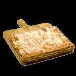 Pizza con mozzarella - 30x40 cm - Panificio Pasticceria Fratelli Tossini - Recco, Genova - Maestri focacciai dal 1899 - La Focaccia è Tossini, Tossini è la Focaccia