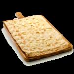 Focaccia col formaggio - 60x40 cm - Panificio Pasticceria Fratelli Tossini - Recco, Genova - Maestri focacciai dal 1899 - La Focaccia è Tossini, Tossini è la Focaccia
