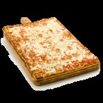 Pizza con mozzarella - 60x40 cm - Panificio Pasticceria Fratelli Tossini - Recco, Genova - Maestri focacciai dal 1899 - La Focaccia è Tossini, Tossini è la Focaccia