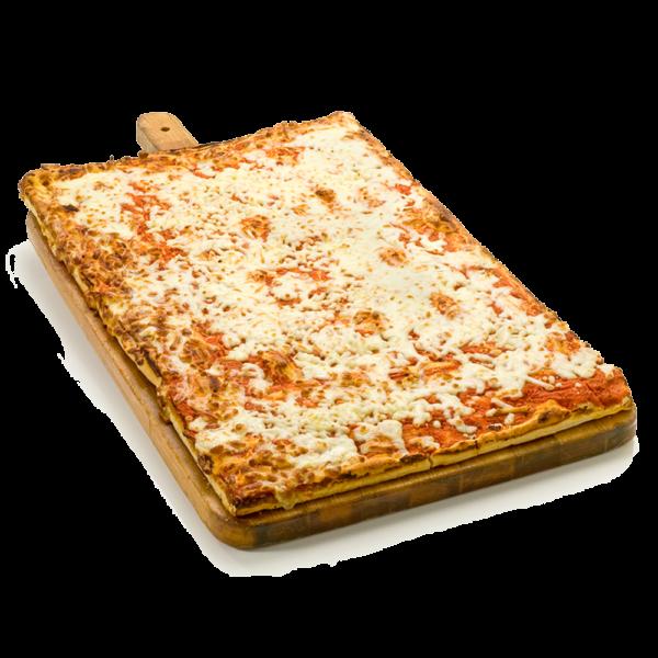 Teglia intera - Pizza con mozzarella