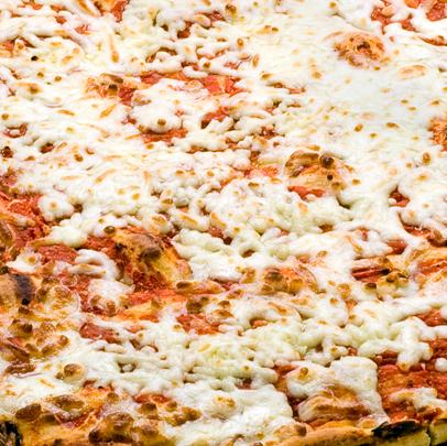 Teglia intera - Pizza con mozzarella - Panificio Pasticceria Tossini - Recco
