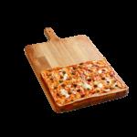 Focaccia Pizzata - 30x40 cm - Panificio Pasticceria Fratelli Tossini - Recco, Genova - Maestri focacciai dal 1899 - La Focaccia è Tossini, Tossini è la Focaccia