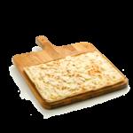 Focaccia col formaggio - 30x40 cm - Panificio Pasticceria Fratelli Tossini - Recco, Genova - Maestri focacciai dal 1899 - La Focaccia è Tossini, Tossini è la Focaccia