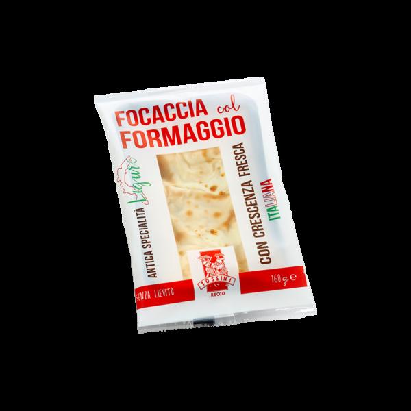Focaccia col formaggio - Linea Recco Snack - Panificio Pasticceria Tossini