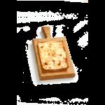 Focaccia col formaggio - 15x20 cm - Panificio Pasticceria Fratelli Tossini - Recco, Genova - Maestri focacciai dal 1899 - La Focaccia è Tossini, Tossini è la Focaccia