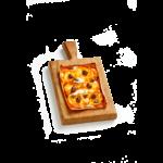 Focaccia Pizzata - 15x20 cm - Panificio Pasticceria Fratelli Tossini - Recco, Genova - Maestri focacciai dal 1899 - La Focaccia è Tossini, Tossini è la Focaccia