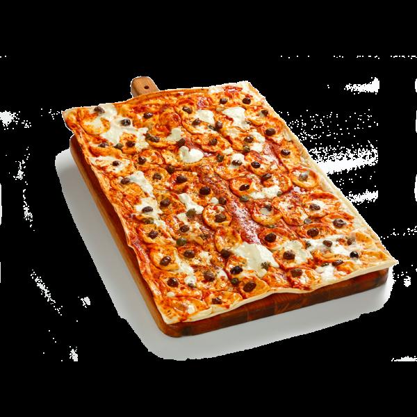 Focaccia col formaggio pizzata- Panificio Pasticceria Fratelli Tossini - Recco