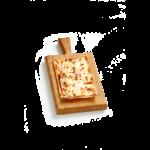 Salsiccia e peperoncino - 15x20 cm - Panificio Pasticceria Fratelli Tossini - Recco, Genova - Maestri focacciai dal 1899 - La Focaccia è Tossini, Tossini è la Focaccia