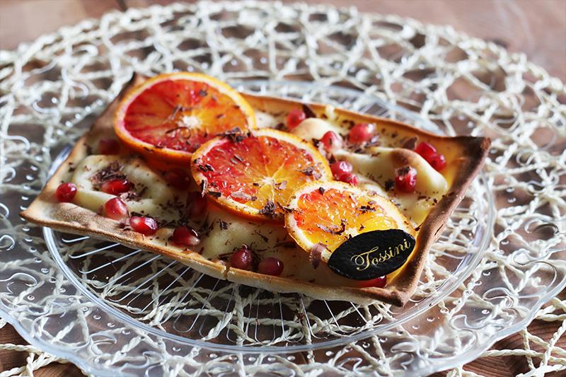 Focaccia al formaggio arance e cioccolato - Panificio Pasticceria Tossini - Recco