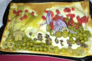 Focaccia al formaggio alla Luigi - Panificio Pasticceria Tossini - Recco