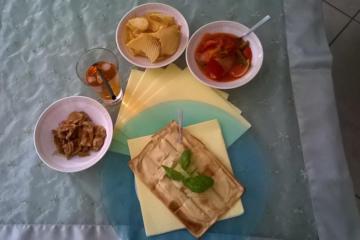 Focaccia al formaggio alla Rosanna - Panificio Pasticceria Tossini - Recco