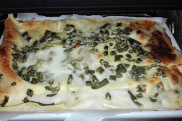 focaccia col formaggio e fagiolini - Panificio Pasticceria Tossini - Recco