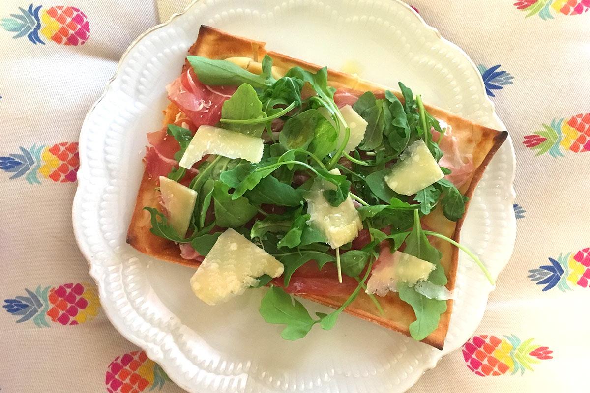 Focaccia col formaggio estiva, Panificio Pasticceria Tossini - Recco