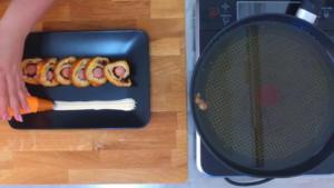 Video ricette: focaccia col formaggio e wurstel Tossini