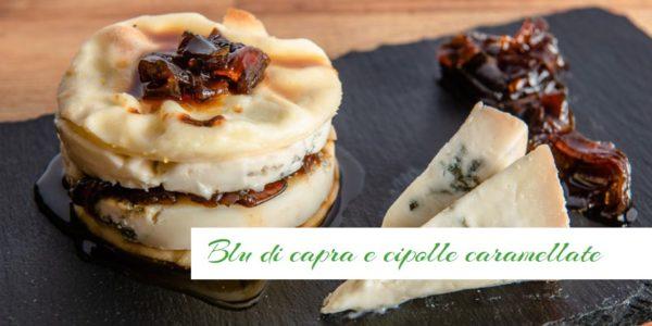 Focaccia col formaggio, blu di capra e cipolle caramellate - Panifico Pasticceria Tossini