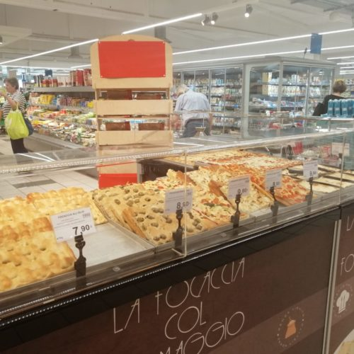 Focaccia col formaggio Tossini, degustazioni Coop (3)