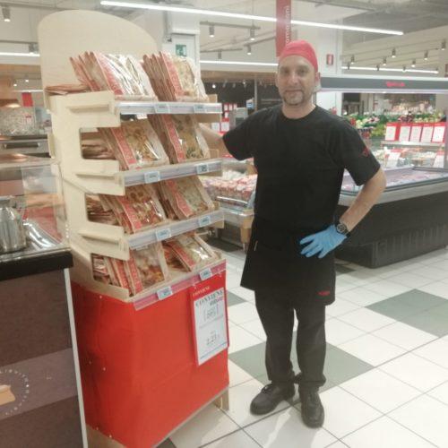 Focaccia col formaggio Tossini, degustazioni Coop (4)
