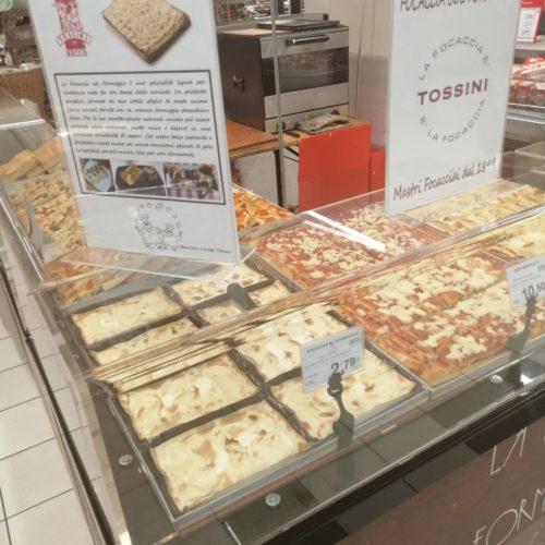Focaccia col formaggio Tossini, degustazioni Coop (8)