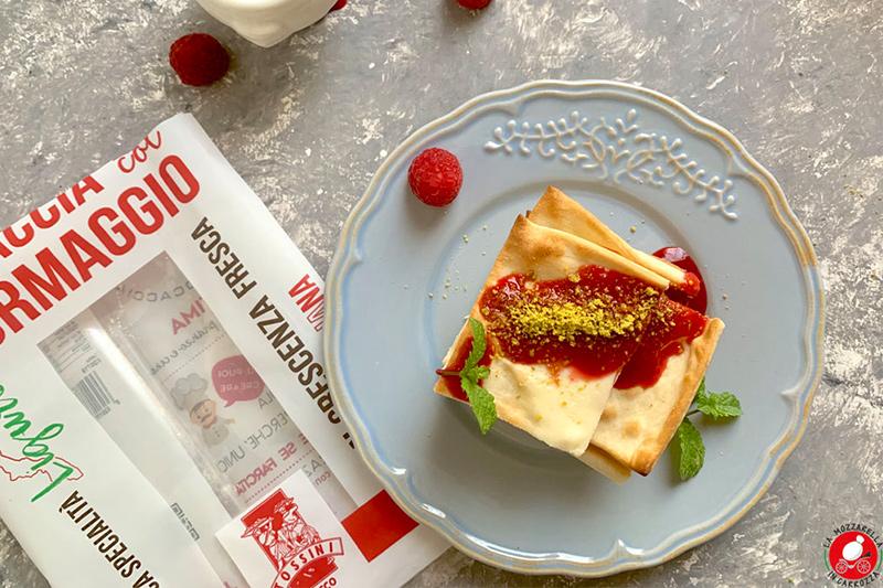 Ricette Ambassador Tossini Torretta di focaccia col formaggio di lamozzarellaincarrozza