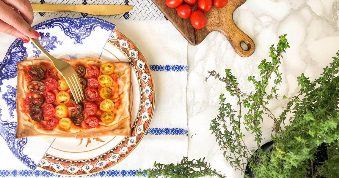 Focaccia al formaggio pizzata(a modo mio) - Romina Condemi - Tossini Recco
