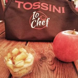 Strudel di focaccia col formaggio - Tossini Recco