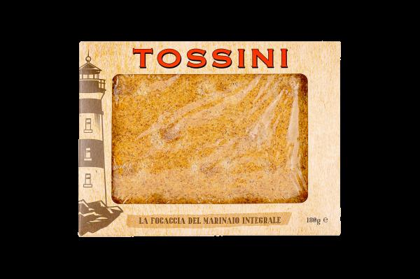Focaccia del marinaio integrale - Panificio Pasticceria Fratelli Tossini - Recco, Genova - Maestri focacciai dal 1899 - La Focaccia è Tossini, Tossini è la Focaccia