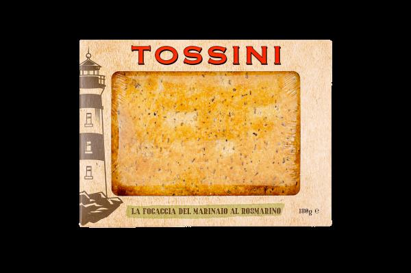 Focaccia del marianaio al rosmarino - Panificio Pasticceria Fratelli Tossini - Recco, Genova - Maestri focacciai dal 1899 - La Focaccia è Tossini, Tossini è la Focaccia