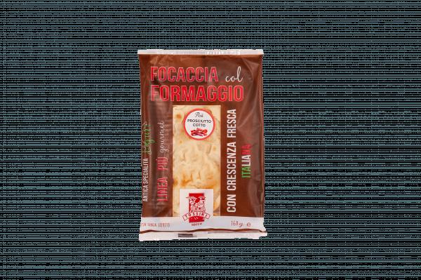 Focaccia col formaggio più prosciutto - Panificio Pasticceria Fratelli Tossini - Recco, Genova - Maestri focacciai dal 1899 - La Focaccia è Tossini, Tossini è la Focaccia
