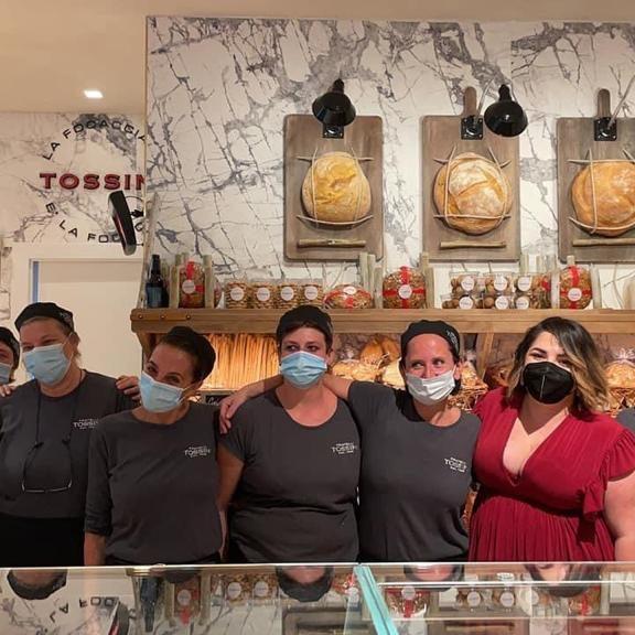 Inaugurato il negozio di Via Roma a Recco, Panificio Pasticceria Tossini (5)